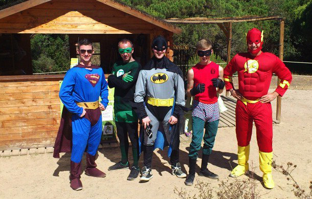 stag-hen-party-bachelor-adventure-super-heroes
